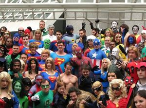 superhero people